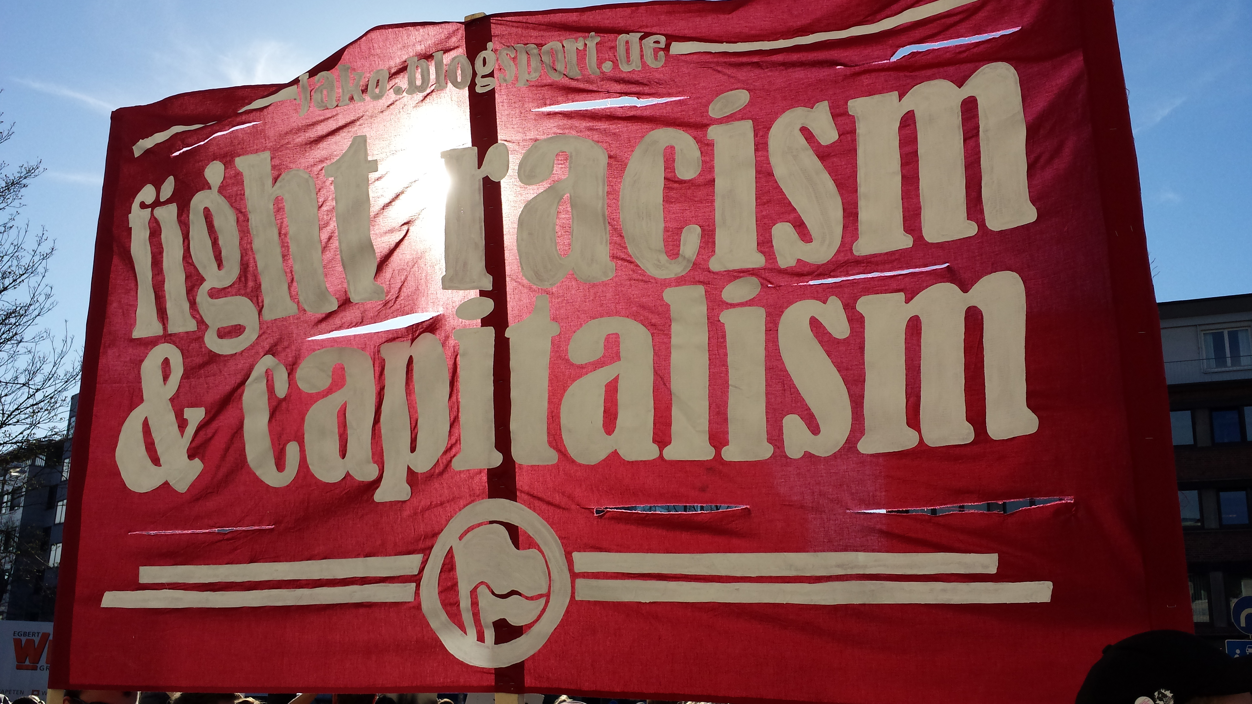 Fight Racism and Capitalism
