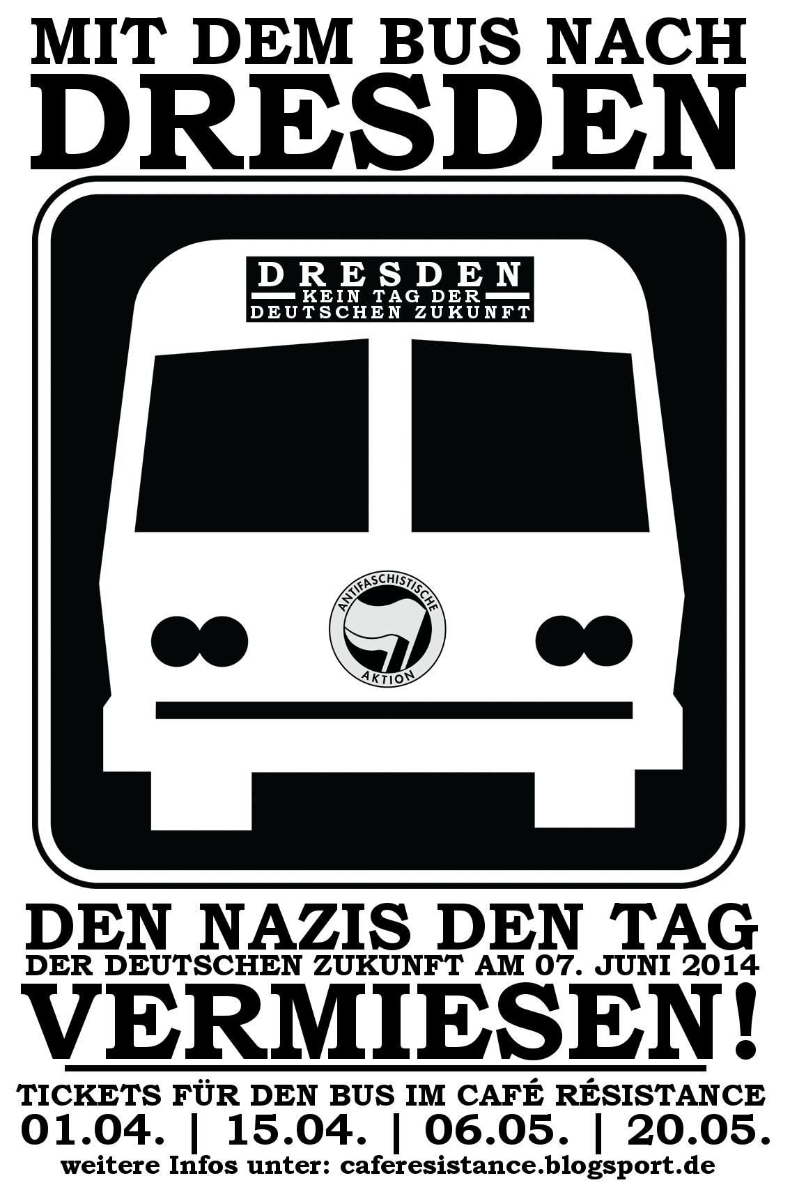 Antifa heißt Bus fahren!